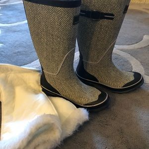 Arctic Shield Women's Grey Rubber Boots
